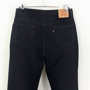Levis 550 Mens 36 x 36 Relaxed Fit Black